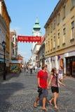 L'Ungheria - Gyor Fotografia Stock