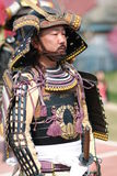 gyoretsu kanra musha游行城镇战士 免版税图库摄影