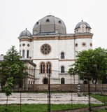 gyorhungary synagoga Arkivbild