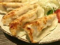 Gyoza ασιατικά τρόφιμα Στοκ Εικόνες