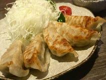 Gyoza Alimento asiático Imagem de Stock