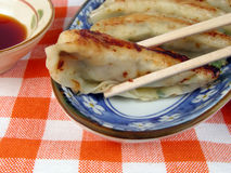 Gyoza-close-up Royalty Free Stock Photography