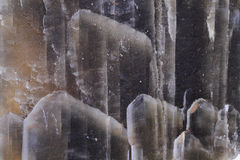 Gyps mineralisk bakgrund Fotografering för Bildbyråer