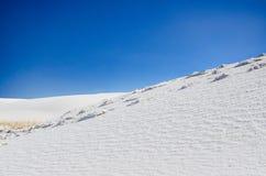 Gypse - blanc ponce le monument national - le Nouveau Mexique Image libre de droits