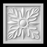 Gypse d'ornementation de fleur illustration stock