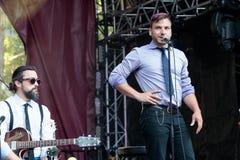 """""""Gypsophilia† Abschiedsausflug im Montreal Jazz Festival, im Juli 2017 stockfotos"""
