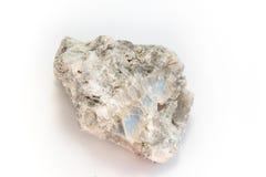 Gypsum. Detailed macro shot of soft mineral calcium sulfate stock photos