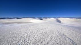 Gypsum dune Royalty Free Stock Images