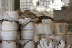 Gypsum molds Royalty Free Stock Photo