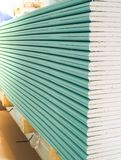 Gypsum plasterboard in the pack. Gypsum plasterboard in the pack Royalty Free Stock Image