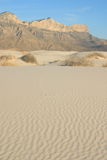 Gypsum Sand Dunes Stock Photos