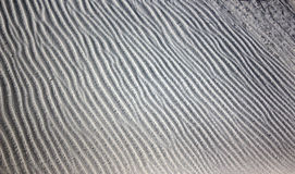 Gypsum Sand Wind Ripples Royalty Free Stock Image