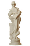 Gypsum statue of a woman Stock Photo