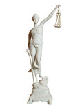 Gypsum statue of a woman Stock Photos