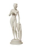 Gypsum statue of a woman Royalty Free Stock Images