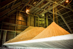 Gypsum storage hall Stock Photos