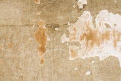 Gypsum wall Old paint peeling Stock Photo