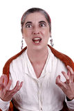 Gypsy. Woman with a funny expression Stock Photography