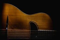 Gypsy Acoustic Guitar Stock Photos