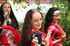 Free Gypsy Band Dancing Stock Photo - 32454930