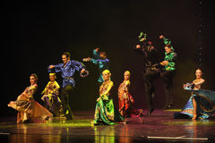 Gypsy Caravan-Gypsy Festival Dance-the Austria's world Dance Royalty Free Stock Image