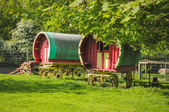 Gypsy Caravans Royalty Free Stock Photos