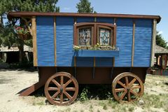 Gypsy Cart Stock Images