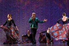 Gypsy dance Royalty Free Stock Photos