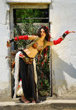Gypsy dancer Royalty Free Stock Photography