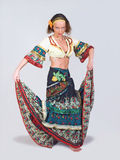 Gypsy dancer Royalty Free Stock Images