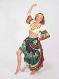 Gypsy dancer Royalty Free Stock Image