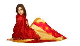 Gypsy dancer female royalty free stock photography