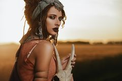 Free Gypsy Fortune Teller Royalty Free Stock Photography - 119359587