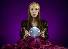 Gypsy fortune-teller Stock Image