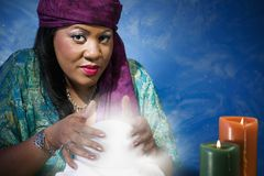Gypsy Fortune Teller Stock Photos