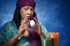 Gypsy Fortune Teller Royalty Free Stock Photography