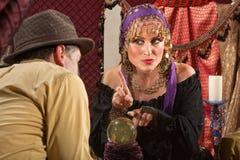 Gypsy Fortune Teller Stock Photos