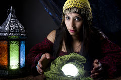 Gypsy or Fortune Teller Royalty Free Stock Images
