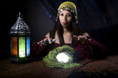 Gypsy or Fortune Teller Stock Photography