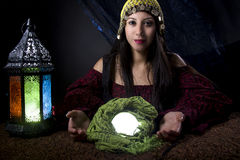 Gypsy or Fortune Teller Stock Image