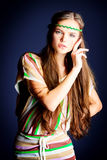 Gypsy girl Stock Images