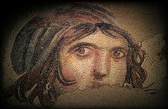 The Gypsy Girl (GAIA) Ancient Mosaic Stock Images