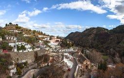 Gypsy Hill (Sacromonte), Granada Royalty Free Stock Photos