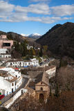 Gypsy Hill (Sacromonte), Granada Royalty Free Stock Photo