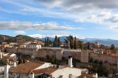 Gypsy Hill (Sacromonte), Granada Stock Image
