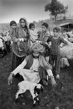 Gypsy in India Stock Image