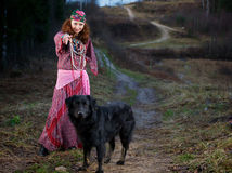 gypsy kobieta Zdjęcie Stock