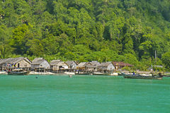 Gypsy Morgan Village, Surin Islands national park , Thailand Stock Images