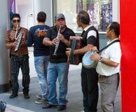 Gypsy music band Stock Photography