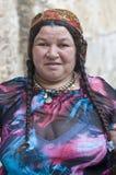 Gypsy pilgrim Royalty Free Stock Image